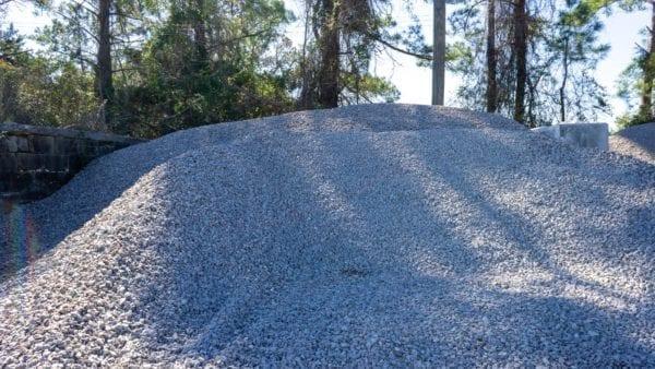 57 granite mound